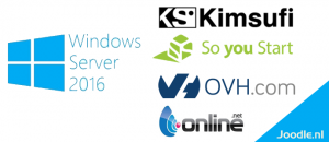 Install windows on kimsufi, ovh, soyoustart, och, hetzner