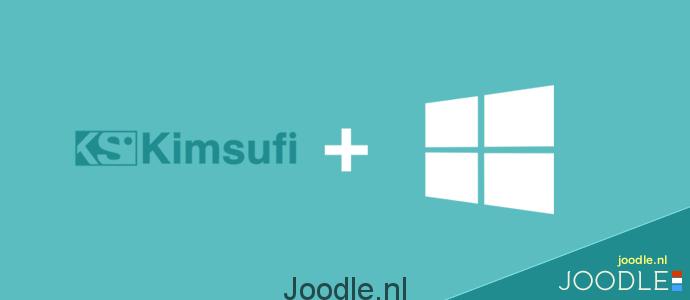 install windows on kimsufi